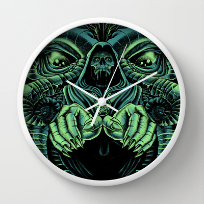 The Cultist clock