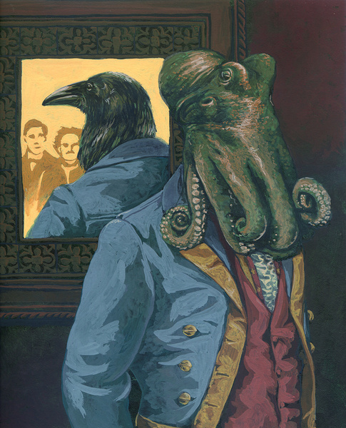 lovecraft poe cthulhu