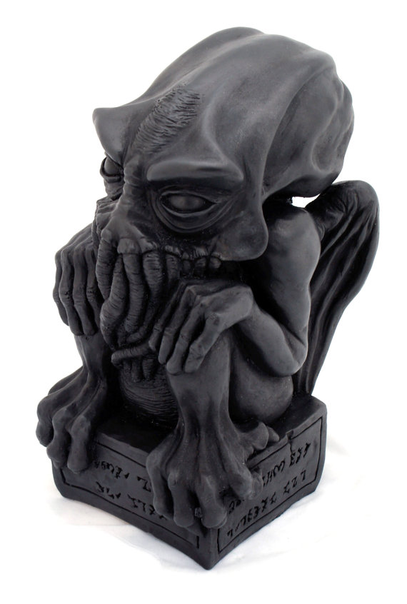Cast Iron Cthulhu idol
