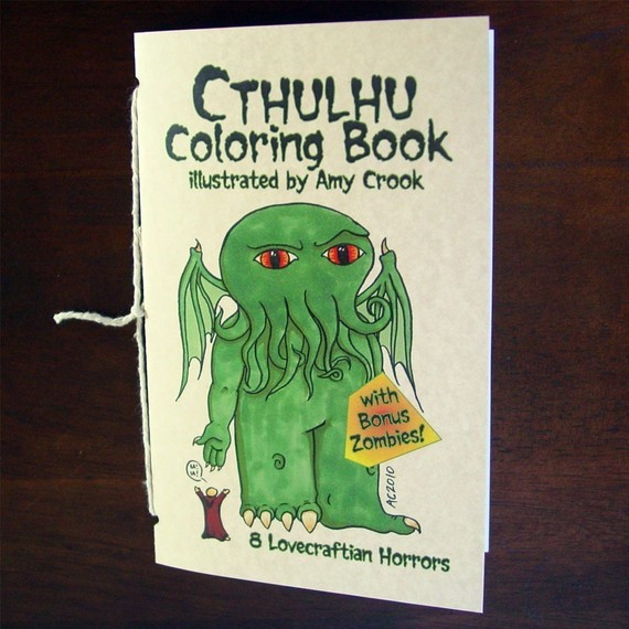 Cthulhu Coloring Book zombies