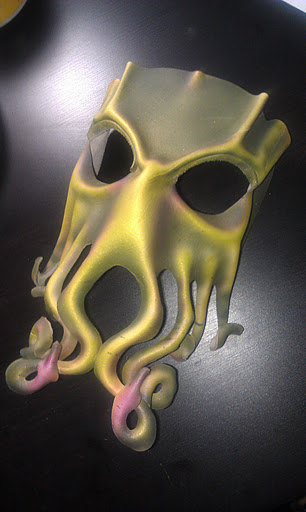 cthulhu mask leather