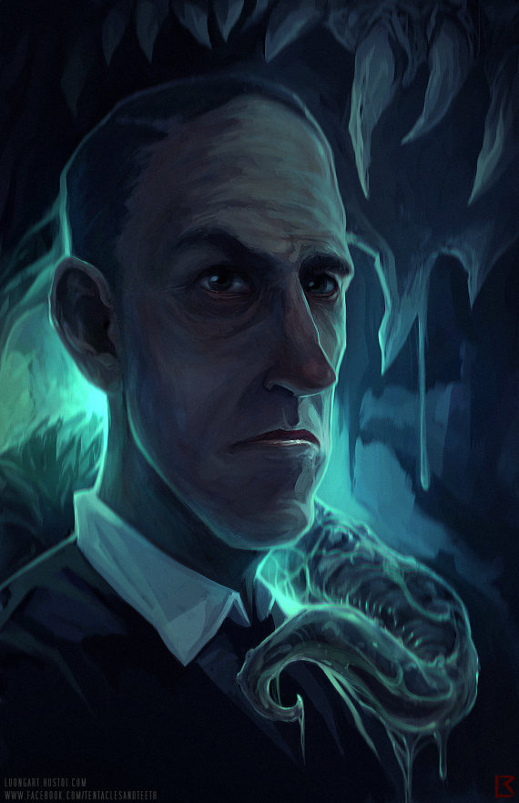 Lovecraft Limited Edition Lithograph