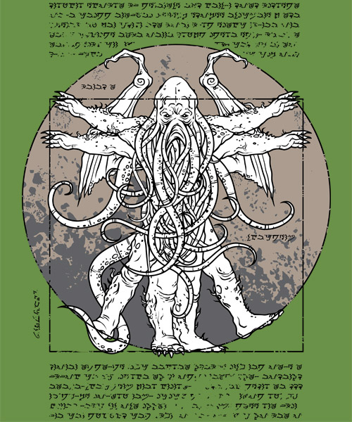 Lovecraftian Man