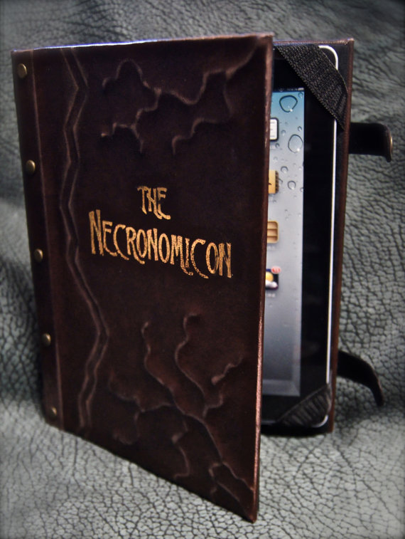 Necronomicon iPad Tablet & eReader Cover