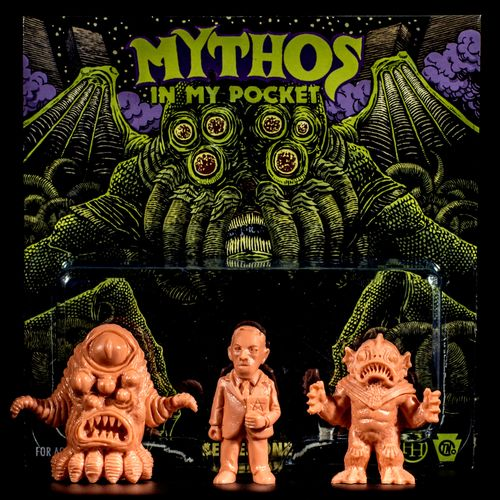 mythos lovecraft figurines pocket