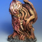 cthulhu monster resin idol