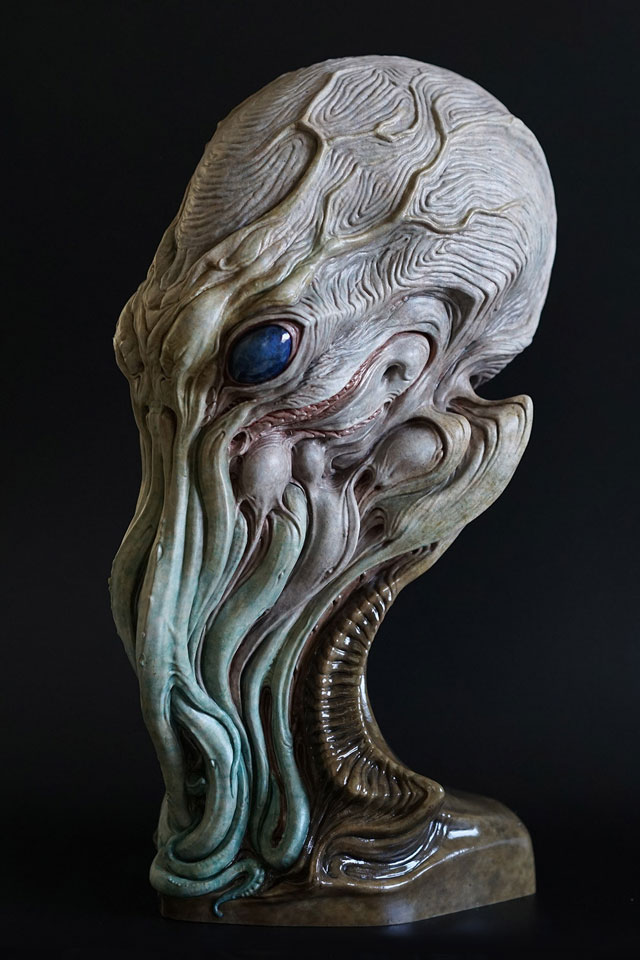 Cthulhu Face Paint