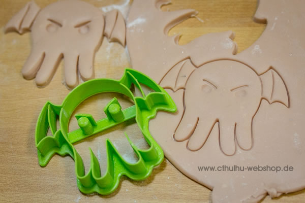 Cthulhu 3D cookie