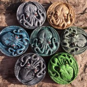 cthulhu medallion magnets