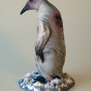 albino penguin mountains of madness side
