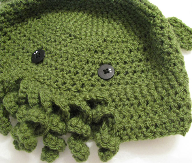 The Cthulhu Toque Crochet Pdf Pattern Cthulhu Shop