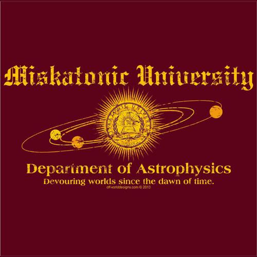ASTROPHYSICS T-SHIRT