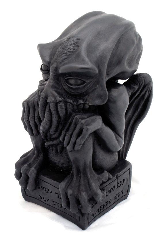 Cast Iron Cthulhu idol