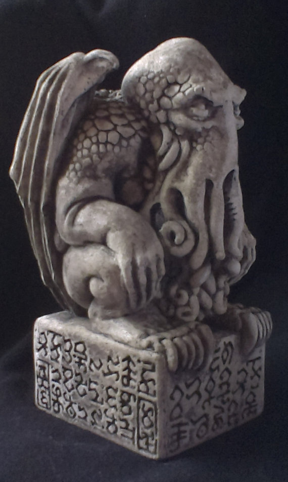 cthulhu idol stone