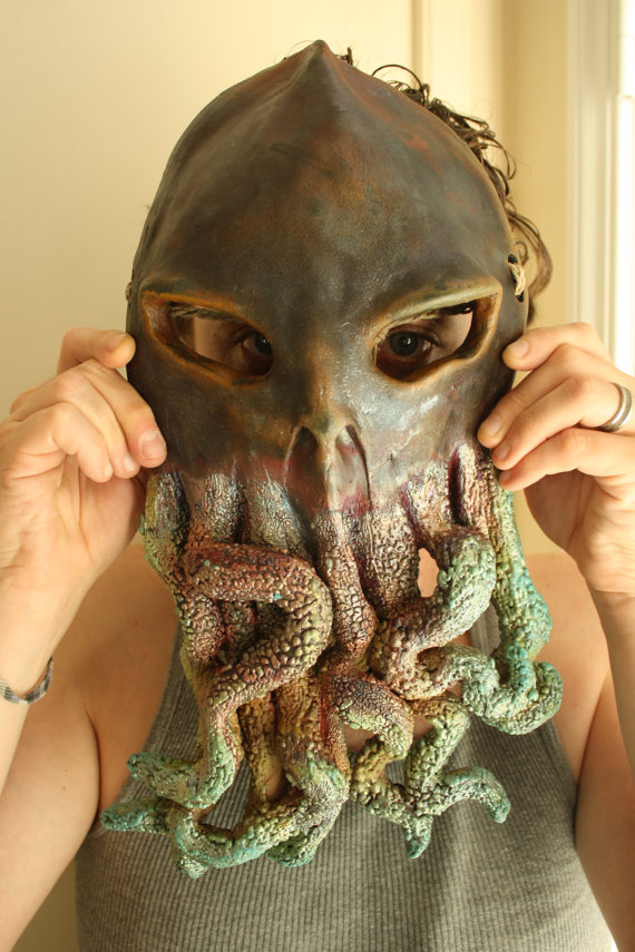 Cthulhu Monster Raku