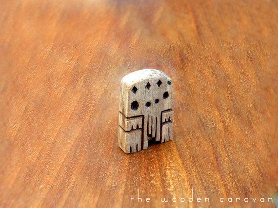 Wooden Cthulhu Idol