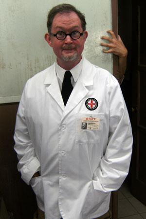 Arkham Sanitarium Lab Coat