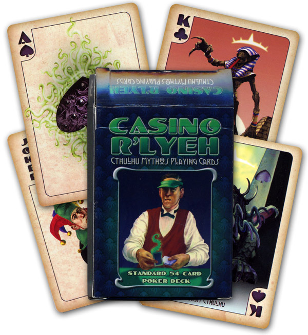 cthulhu mythos poker cards
