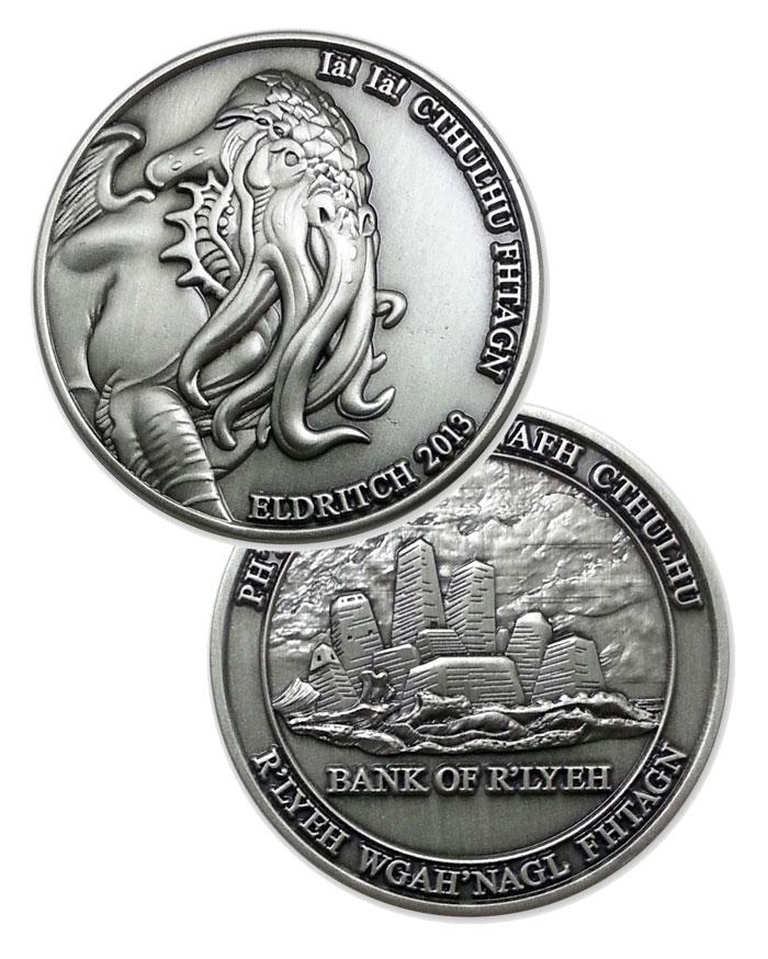 cthulhu coin