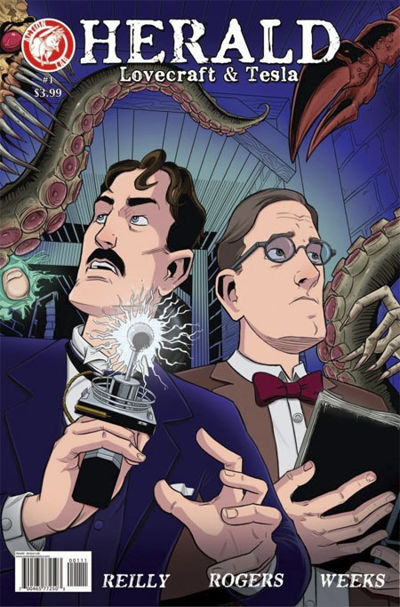 Lovecraft & Tesla comic