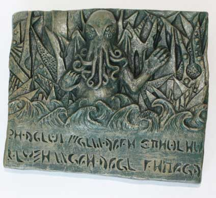 call of cthulhu horror in clay