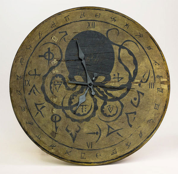 Cthulhu clock