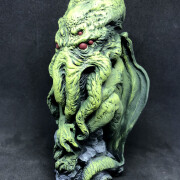 cthulhu lovecraft idol green