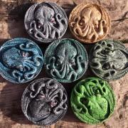 cthulhu medallion magnets