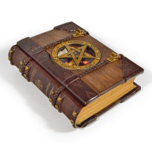 Necronomicon Leather Book Purse Necronomicon Book Bag
