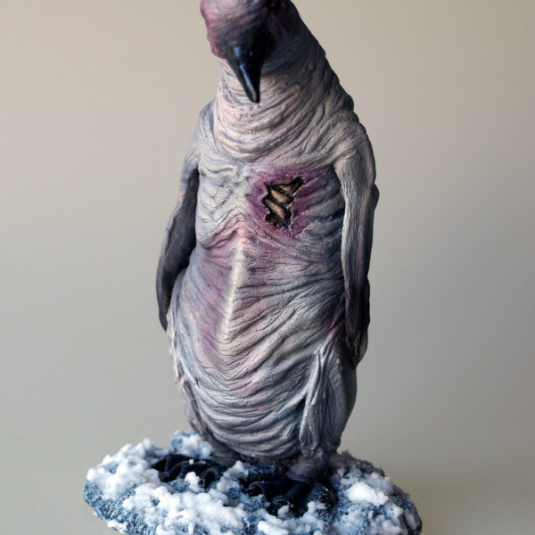 albino penguin mountains of madness front