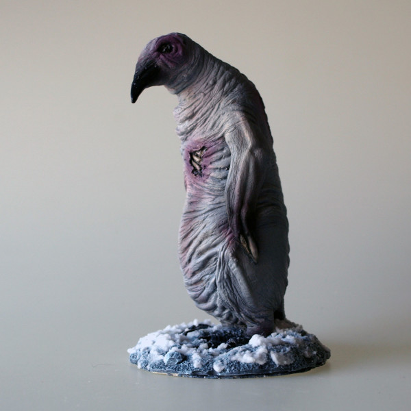 Mountains of Madness albino penguin lovecraft