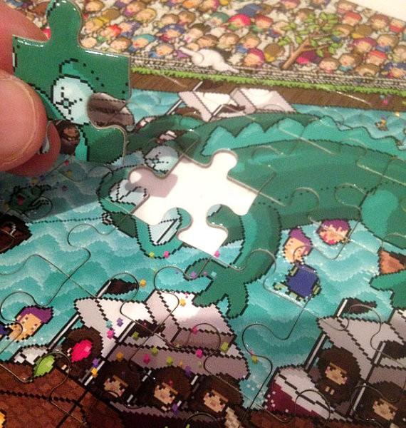 puzzle dagon